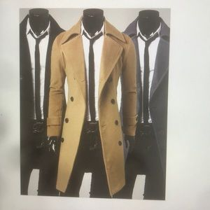 Other - New winter trench coat for Men